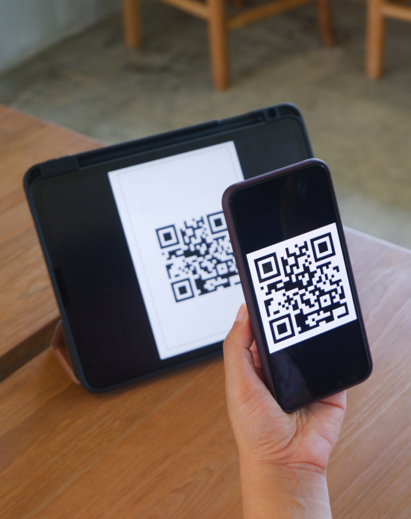 Scanning QR Code with Phone